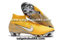super popular b704d 855b7 Nike Barn Mercurial Superfly VI 360 Elite Neymar FG Fotballsko Gul Hvit Sort  visit us