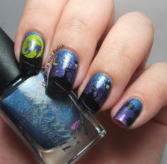 The Clockwise Nail Polish: Messy Mansion MM 50 Stamping Plate Review