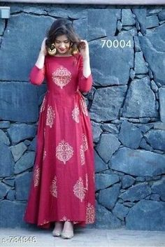 Bollywood Hot Designer Women's Kurtis from Shahjaan's Shop Indian Gowns Dresses, Indian Fashion Dresses, Indian Designer Outfits, Designer Dresses, Fashion Clothes, Style Fashion, Fashion Wear, Fashion Styles, Dress Fashion