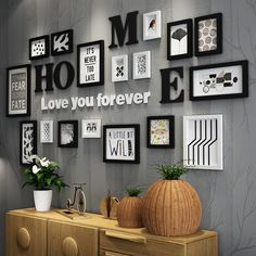 2018 Love you forever Photo Wall Art Decor Frames Related posts:Creative Ways To Display Your Photos On The Wallsawesome Brilliant Farmhouse Living Room Wall Decor Ideas Family Wall Decor, Diy Wall Decor, Decor Room, Living Room Decor, Diy Home Decor, Diy Decoration, Wall Decorations, Room Art, Letters On Wall Decor