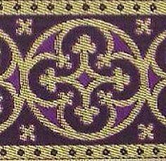 Or & Violet Sewing Trim, Purple Gold, Renaissance, Medieval, Metallic, Lancaster, Ebay, Outfit, Amp