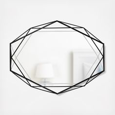 Plated geometric metal mirror