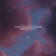 Prophet Muhammad, Hadith, Forgiveness, Letting Go