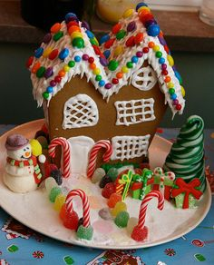 gingerbread house by Sevenmarie, via Flickr