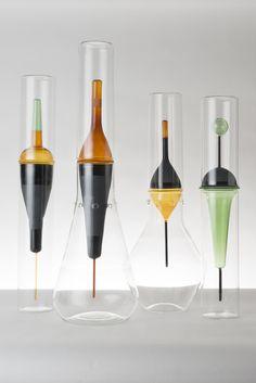 deriva glass collection by cristina celestino