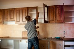 How To Refurbish Reface Kitchen Cabinets More