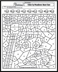 Color By Number Coloring Pages Color by letter color by number