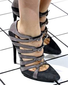 Balenciaga FW 2011  Keywords: #bridalshoes #bridesmaidshoes #jevelweddingplanning Follow Us: www.jevelweddingplanning.com  www.facebook.com/jevelweddingplanning/