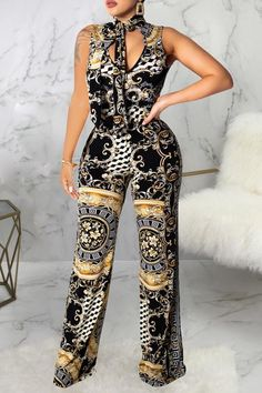 Women New Stylish Roaso Casual Printed Multicolor One-piece Jumpsuit Multi Jumpsuit With Sleeves, Jumpsuit Dressy, Printed Jumpsuit, Womens Fashion Online, Flare Pants, Playsuits, Jumpsuits For Women, Fashion Jumpsuits, Sleeve Styles