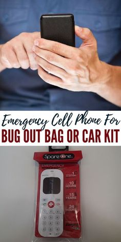 Emergency Cell Phone For Bug Out Bag or Car Kit - We all want to have a survival phone. This is one of the best in the market. The specifications would definitely say that this is a prepper's phone.