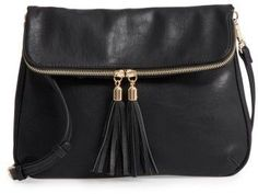 Bp. Foldover Crossbody Bag - Black #giftideas afflink