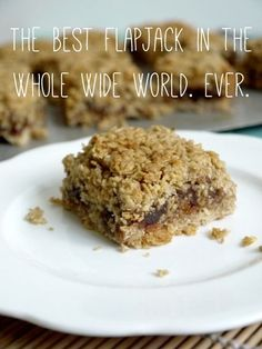 I take flapjacks very seriously. I have spent the past 6 years or so trying every recipe I stumbled upon with very varied results. Either too dry, too plain, too sweet, too crumbly, too dull, too g...