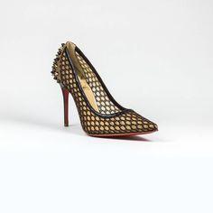 e210312c7ee Christian Louboutin Pigalle Follies 85 Patent Black Heel