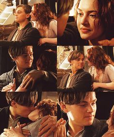Titanic- Jack and Rose in the car.