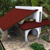 Casa cu etaj 10   Proiecte de case personalizate   Arhitect Gabriel Georgescu & Echipa 3 Bedroom Home Floor Plans, House Floor Plans, Kerala House Design, Modern House Design, Amazing Architecture, Architecture Design, Architectural House Plans, Villa, Kerala Houses