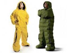 Resultado de imagem para men inside a sleeping bag