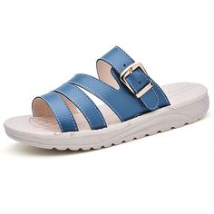 US Size 5-10 Casual Beach Slipper Leather Breathable Sandals  Worldwide delivery. Original best quality product for 70% of it's real price. Hurry up, buying it is extra profitable, because we have good production sources. 1 day products dispatch from warehouse. Fast & reliable shipment...