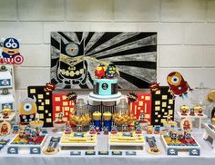 """Despicable Me / Minions / Birthday """"Minions Avengers Party"""" 