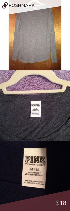 Victoria's Secret PINK Long Sleeve Top Bundle Victoria's Secret PINK:   Grey Long Sleeve Top (Small) & Dark Blue Long Sleeve Top (Medium). Both have absolutely no stains, tears, or signs of wear. The small can fit a medium no doubt. Will sell individually if requested, but would prefer to sell together. PINK Victoria's Secret Tops Tees - Long Sleeve