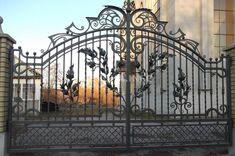 """Массивные кованые ворота - Кузница """"Левша"""" - Краснодар, Сочи."""