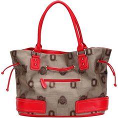 Ohio State Buckeyes Ladies Signature Straps Handbag