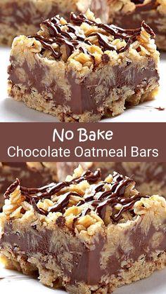 Köstliche Desserts, Delicious Desserts, Dessert Recipes, Yummy Food, Fancy Desserts, Bar Recipes, Baking Recipes, Cookie Recipes, Biscuits