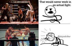 Karate Kid.bMMA and martial arts humor Mcdojo facebook page