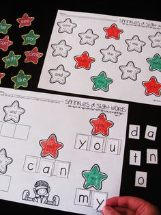 and Sight Words {Freebie} FREE Sight words sprinkle cookie kindergarten literacy stations that are super cute!FREE Sight words sprinkle cookie kindergarten literacy stations that are super cute! Kindergarten Literacy Stations, Kindergarten Language Arts, Kindergarten Reading, Literacy Centers, Kindergarten Christmas, Kindergarten Classroom, Learning Centers, Classroom Ideas, Teaching Sight Words