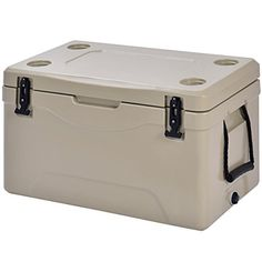 Giantex Portable Insulated 63 Quart Outdoor Food Beverage Storage Thermal Cooler Grey *** Continue to the product at the image link.-It is an affiliate link to Amazon.