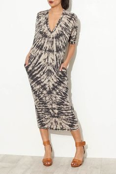 the boho vibe with tie-dye and easy shape. by Raquel Allegra
