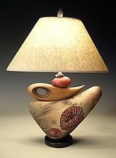 "No Nudo de la lámpara de Jan Jacque (cerámica lámpara de mesa) (22 ""x 17"")"