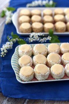 Polish Desserts, Polish Recipes, No Bake Desserts, Nutella, Cake Recipes, Dessert Recipes, Biscuits, Different Recipes, Christmas Baking