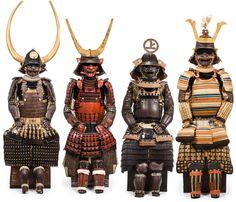 "tokyo-fashion: "" ARTS OF THE SAMURAI Auction October 2014 at Bonham's NYC. [ Auction Catalog ] For anyone who has ever dreamed of owning their own suit of Japanese armor. Armadura Medieval, Japanese History, Japanese Culture, Kabuto Samurai, Samourai Tattoo, Armadura Cosplay, Bushido, Samurai Artwork, Japanese Warrior"