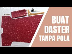 Cara Membuat Daster Tanpa Pola - Part 1 | Belajar Menjahit Bagi Pemula - YouTube Mom Gallery, Diy And Crafts, Youtube, Women's Fashion, Workout, Frame, Dress, Art, Kunst