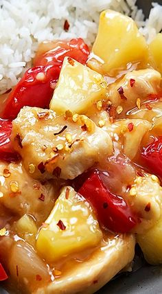 Sweet and spicy Slow Cooker Sweet Fire Chicken made healthier at home with a tangy Asian sauce right in your slow cooker! Slow Cooked Meals, Crock Pot Cooking, Slow Cooker Recipes, Crockpot Recipes, Cooking Recipes, Easy Cooking, Chicken Recipes, Sweet Fire Chicken, Sweet And Spicy Chicken