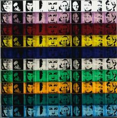 Andy Warhol, Portraits of the Artists II.17