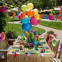 Fun Hawaiian Luau Party Ideas For kids Good ideas for decorating