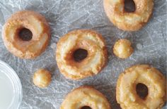 Gluten-Free Old-Fashioned Sour Cream Donuts