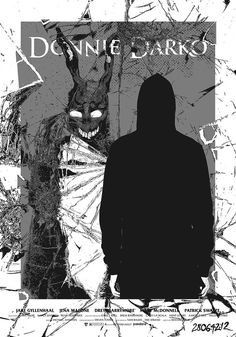 "Horror Movie Poster Art : ""Donnie Darko"" by Miki Edge Best Movie Posters, Horror Movie Posters, Cinema Posters, Movie Poster Art, Film Posters, Horror Movies, Horror Film, Donnie Darko, Film Aesthetic"