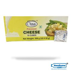 Chitale Dairy: The Group has achieved a distinct edge in the form of India's most modern and sophisticated buffalo and cow farm. Research and development have always been the Group's primary focus.  Chitale Cheese cube: Chitale cheese cubes are 100% vegetarian. The packet contains 20 cheese cubes. These cubes are the pasteurized processed cheddar cheese. It can be used in baking, cooking, or as garnish or can be eaten alone. Cheese Online, Eating Alone, Cheese Cubes, Cheddar Cheese, Buffalo, Cow, Dairy, Vegetarian, India