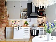 Köket är en sällsynt lyckad hybrid av gammalt och nytt