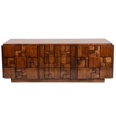 Lane Mosaic Dresser Credenza | From a unique collection of antique and modern dressers at http://www.1stdibs.com/furniture/storage-case-pieces/dressers/