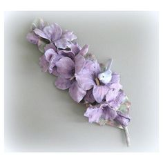 Purple Flower Wall Flower Sculpture Hand Painted Flower Wall Sculpture... ($48) ❤ liked on Polyvore featuring home, home decor, floral sculpture, purple home decor, floral home decor and purple home accessories
