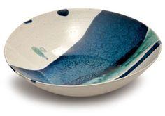 Michael Taylor Stripe Glaze Footed Bowl 31.5cm