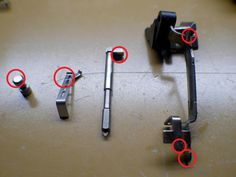Glock 25 Cent Trigger Job Polish Parts Diagram Glock Mods, Best Handguns, Bullet Crafts, Car Polish, Dremel Tool, Cool Guns, Knowledge Is Power, Guns And Ammo, House Cleaning Tips