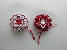 Quilling Cards, Paper Quilling, Fun Projects, Paper Art, Embellishments, Origami, Diy And Crafts, Stud Earrings, Baba Marta