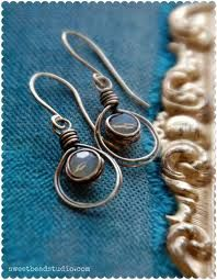 wire wrap earrings - Google Search