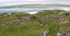 What's the future look like for Skara Brae?Although the settlement was built nearly two kilometers from the beach, in recent centuries, it has been increasingly threatened by the sea. Since 1926, the houses have been protected from the approaching sea and harsh autumn winds by a concrete wall.