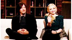 Norman e Emily bem no estilo Daryl e Beth