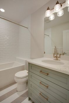 Small Bathroom Vanities, Guest Bathrooms, Upstairs Bathrooms, Bathroom Renos, Bathroom Interior, Modern Bathroom, Bathroom Cabinets, Dyi Bathroom, Bathroom Renovations